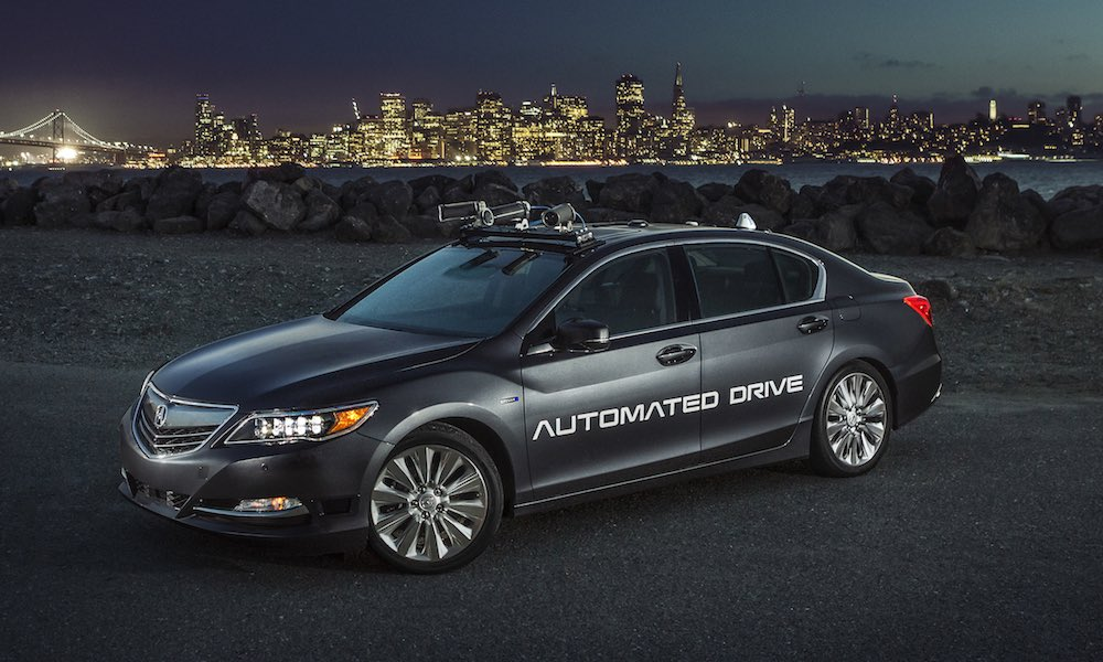 Acura Reveals Its Sleek and Sexy, 2nd Generation Self-Driving Car
