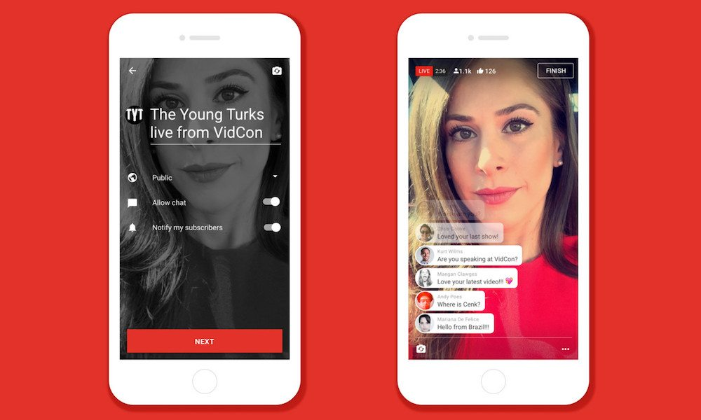 YouTube Takes on Periscope and Facebook Live with New Mobile Streaming Platform