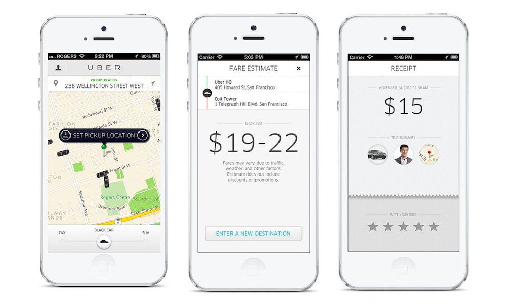 Uber Partners with Pandora to Bring Internet Radio to Your Ride