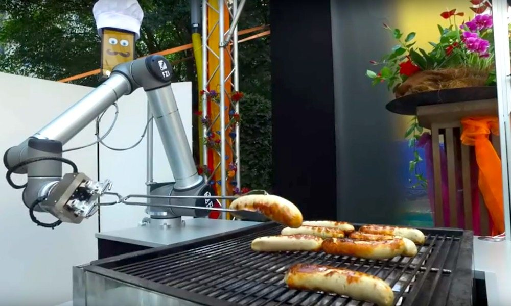 The Germans Have Taught a Robot How to Grill the Perfect Sausage