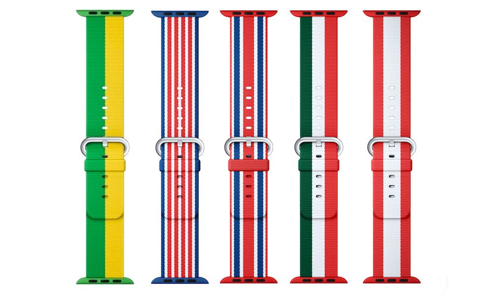 Official (But Extremely Rare) Olympic Themed Apple Watch Bands Available Now