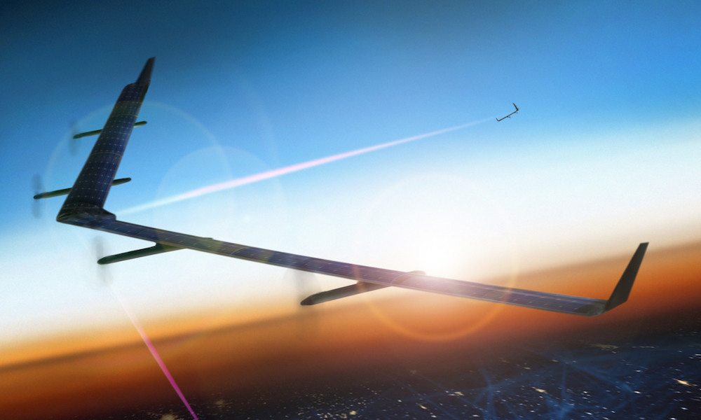 Facebook's Internet-Beaming Drone Completes Maiden Flight