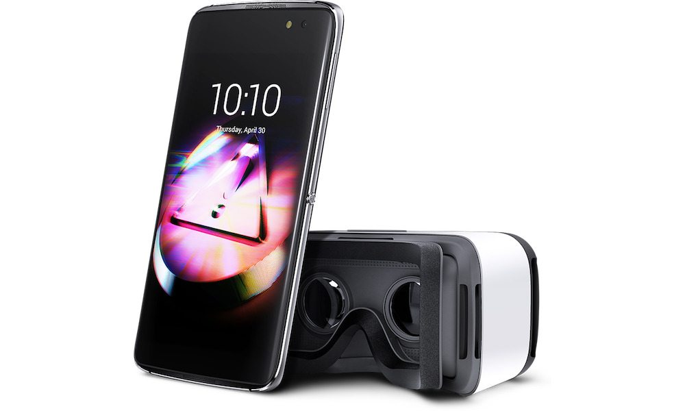 Newest Alcatel Flagship Smartphone Actually Comes Bundled with a VR Headset