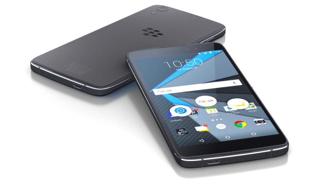'World's Most Secure Phone' Is Blackberry's Second Attempt at an Android Device