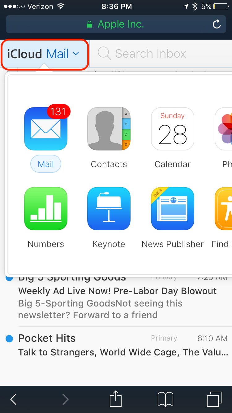 how to change icloud email on iphone