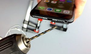 Please Don't Take a Drill to Your Brand New iPhone 7