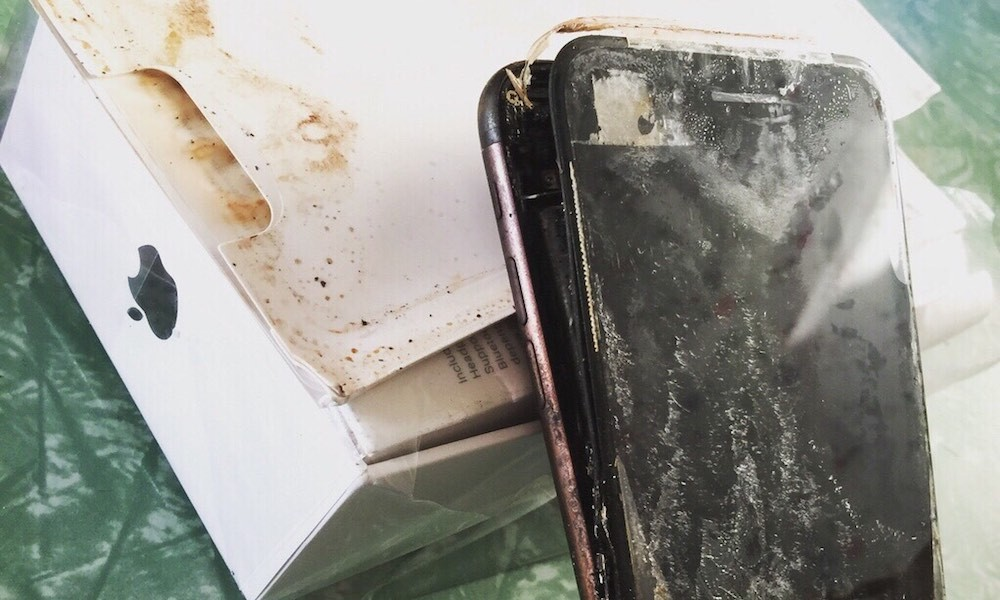 This iPhone 7 Allegedly Exploded Before It Reached Its Owner