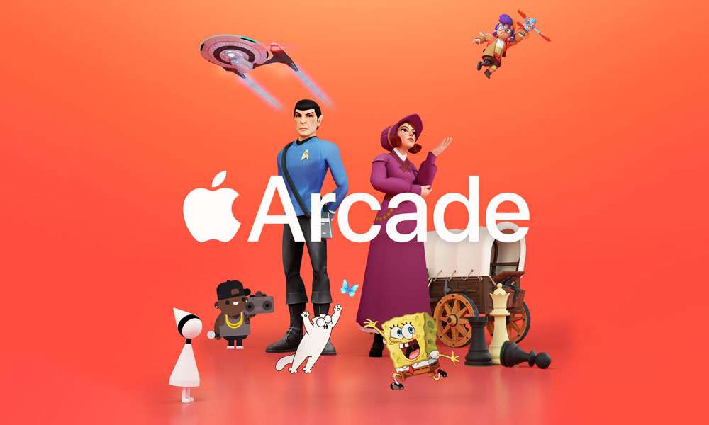 Apple Arcade April 2021 banner