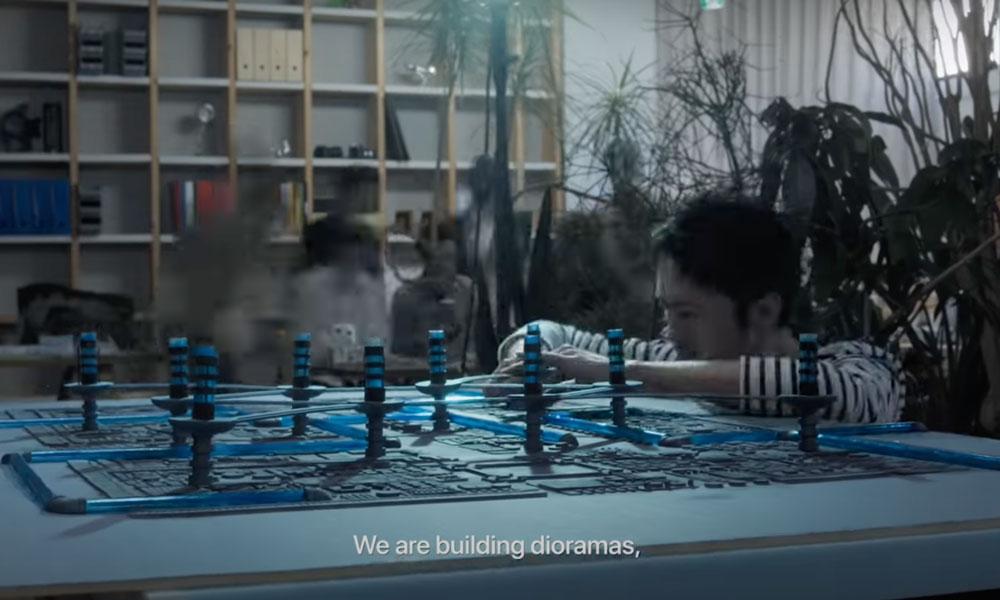 Fantasian building dioramas