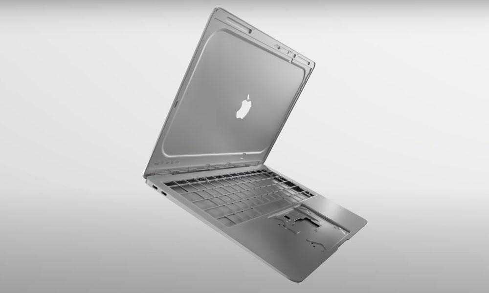 MacBook Air recycled aluminum