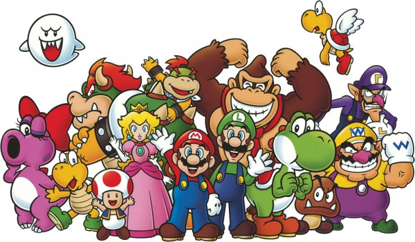 Club_Nintendo_Characters_Poster