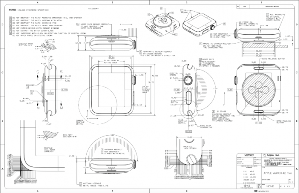 apple watch diagram schematics iDrop news