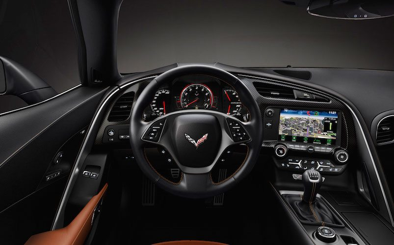 Corvette Stingray CarPlay Apple iDrop News Dash View