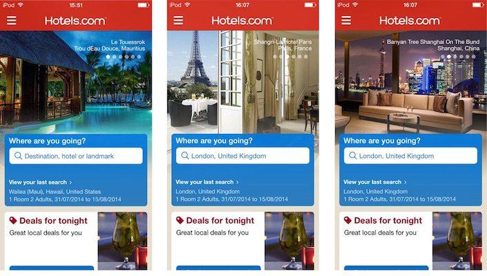 hotels app