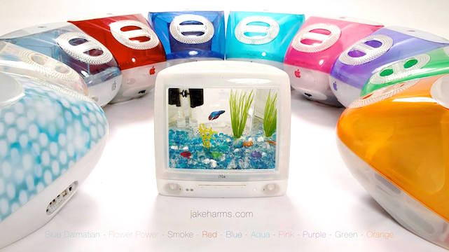 iDrop News iMac g3 aquarium macquarium