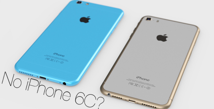 Apple Drops Plans to Release a Smaller iPhone 6C