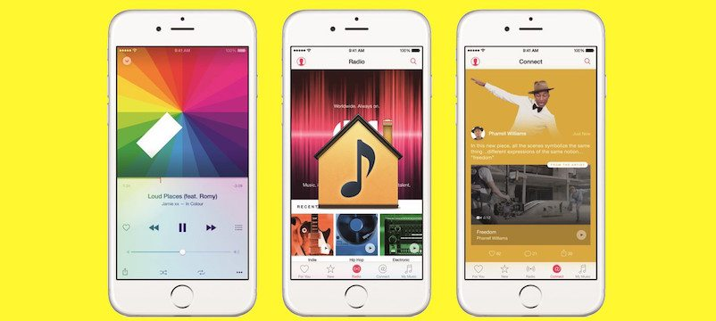 Home Sharing Disappears in iOS 8.4