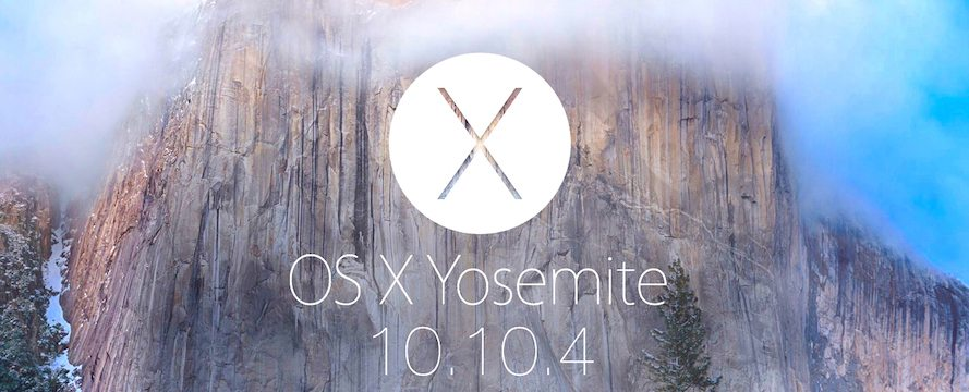 OS X 10.10.4 Released with a Host of Stability Improvements