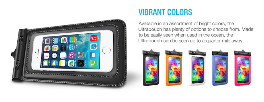 Waterproof Pouch for iPhone 4/5/6 - 60% OFF