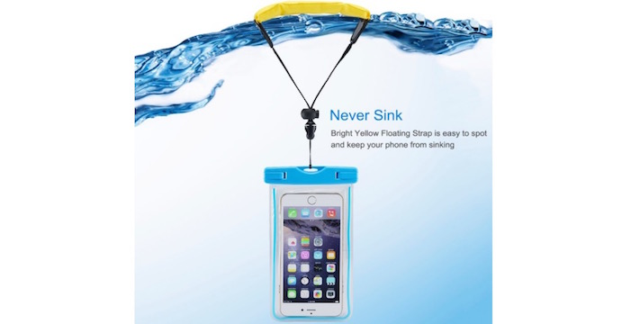 Waterproof Case with Floating Wrist Strap - 74% OFF