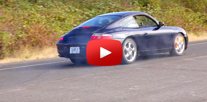 What Happens When You Replace a Porsche's Brake Pads with Apple iPhones?