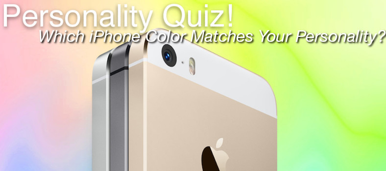 Quiz! Which iPhone Color Matches Your Personality?
