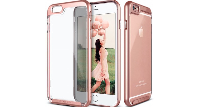 Rose Gold Fusion Hybrid Cover for iPhone 6s Plus - 57% OFF