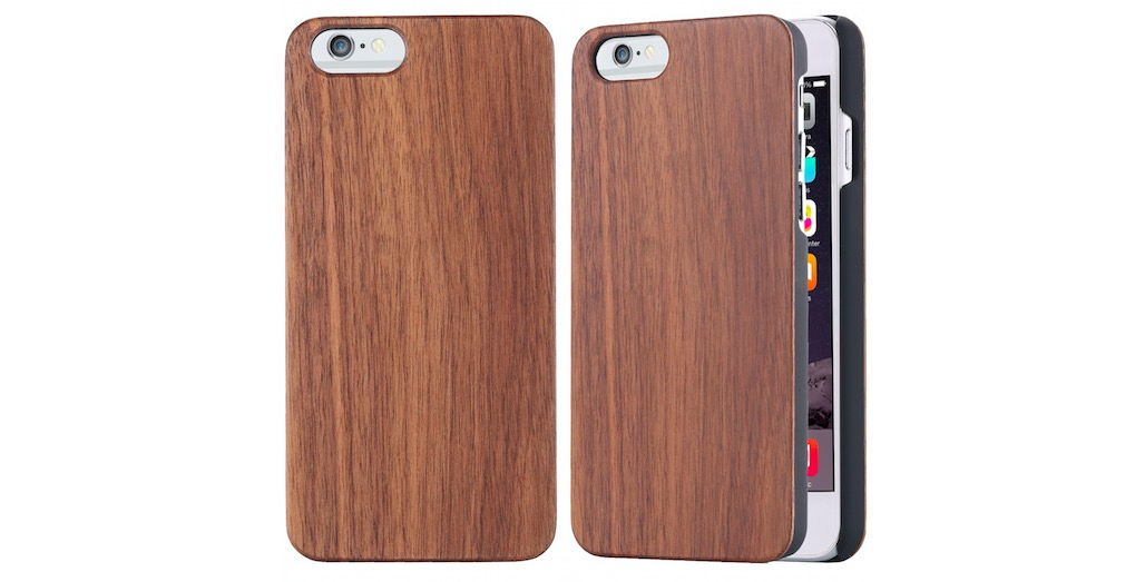 Walnut Wood Hybrid Case for iPhone 6S - 63% OFF