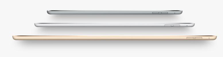 iPad thinness
