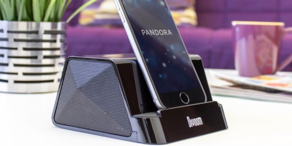iFit 2 Portable Rechargeable Speaker Stand for iPhone - 58% OFF