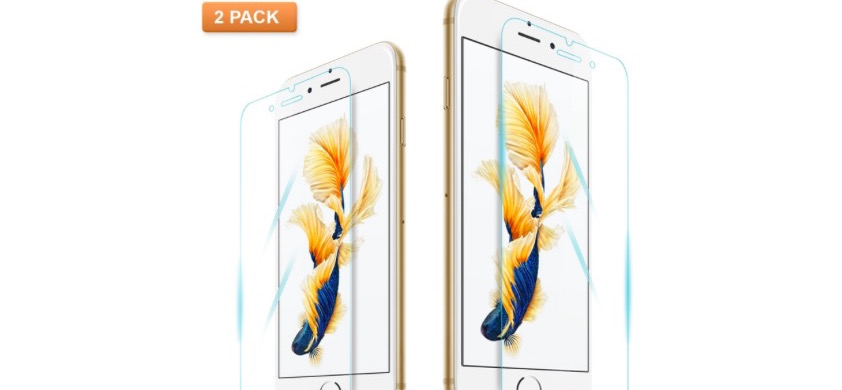 iPhone 6S Plus Screen Protector 2 Pack - 87% OFF