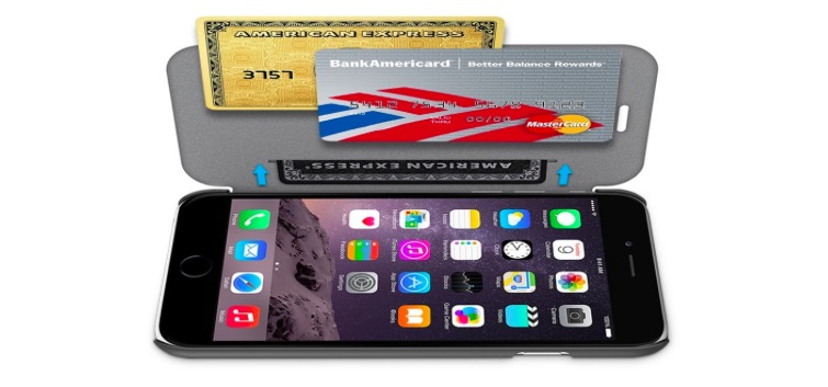 Hard Wallet Case for iPhone 6 Plus - 67% OFF