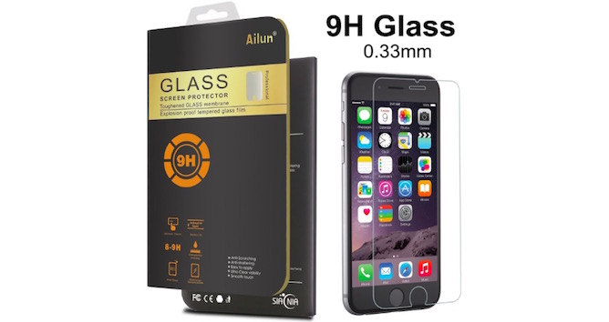 Premium Curved Tempered Glass Screen Protector for iPhone 6 - 77% OFF