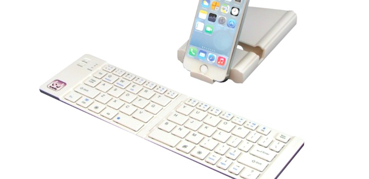 Universal Foldable Bluetooth Keyboard - 64% OFF