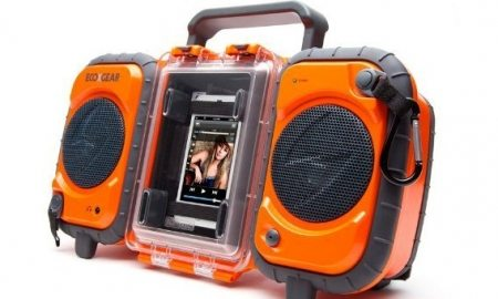 ECOXGEAR RuggedWaterproof Stereo Boombox - Save $46 Instantly