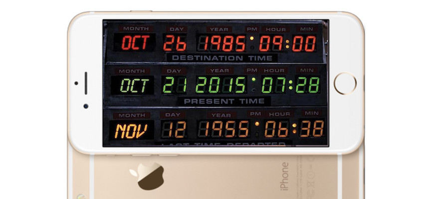 Happy 'Back to the Future' Day From Siri!