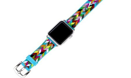 French Bull Wrist Band With Metal Clasp for Apple Watch - 39% OFF