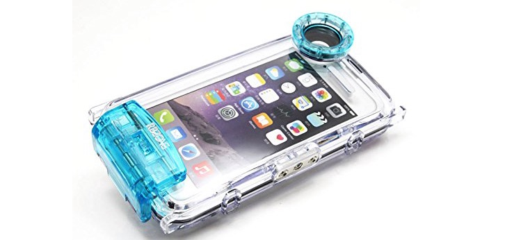 Waterproof Camera Housing for iPhone 6 Plus - 73% OFF