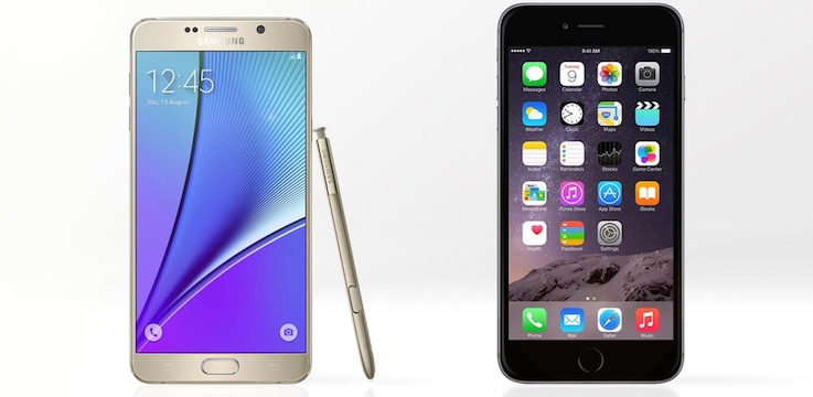 iPhone 6s Crushes Galaxy Note 5 in Real-World Performance Test