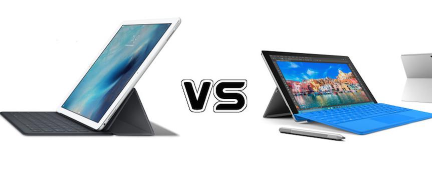 iPad Pro vs. Microsoft Surface Pro 4