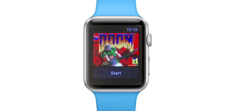 The Classic Video Game Doom is Now Playable On Apple Watch