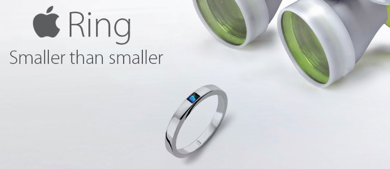 Patent Filed for Long Rumored Apple Ring