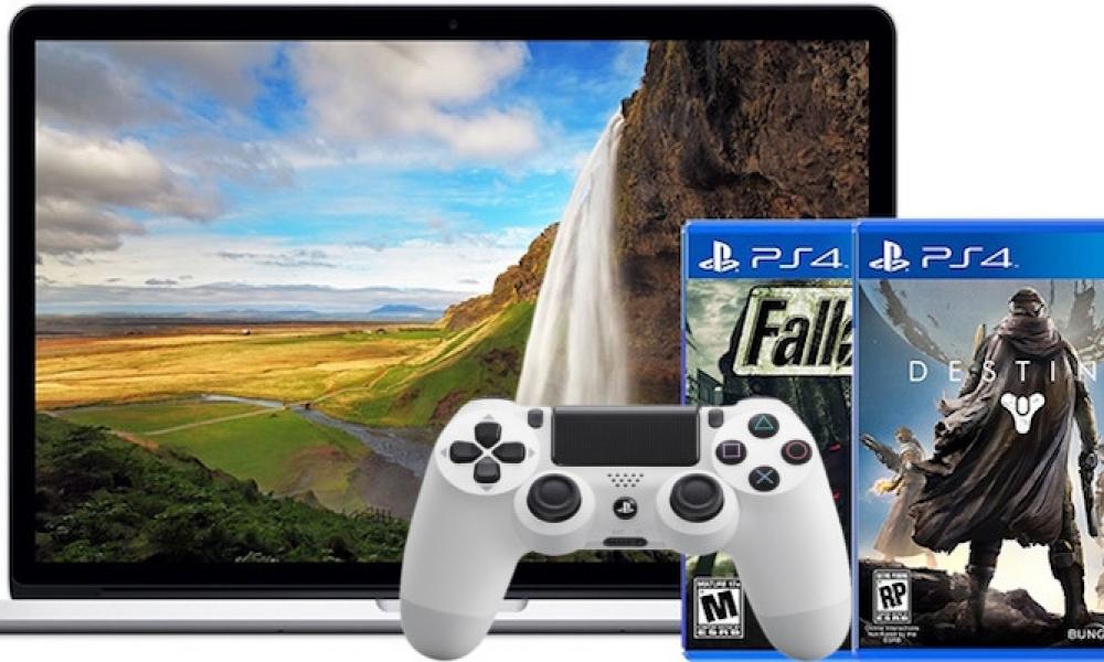 remote play ps4 macbook
