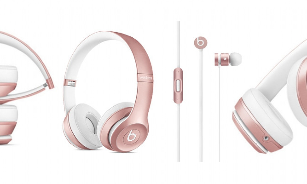 Beats Releases Rose Gold Headphones Just In Time for the Holidays