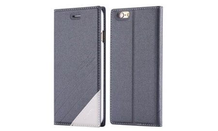 Fashionable Kickstand Wallet Case for iPhone 6 - 67% OFF