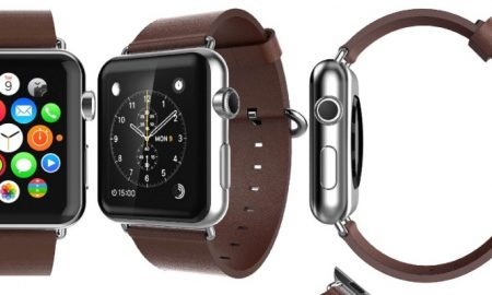 42mm Brown Leather Apple Watch Band - $28 OFF
