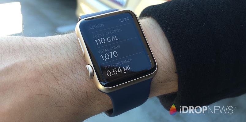 Eli's Apple Watch Cals iDrop