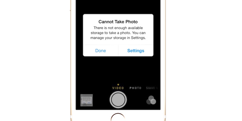 how to delete memory on your iphone