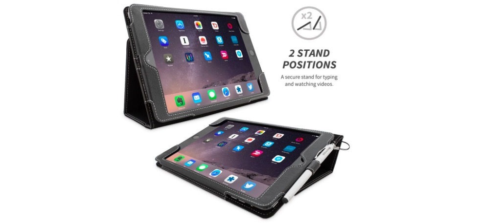 Leather Protective Case with Kickstand for iPad Pro - 32% OFF
