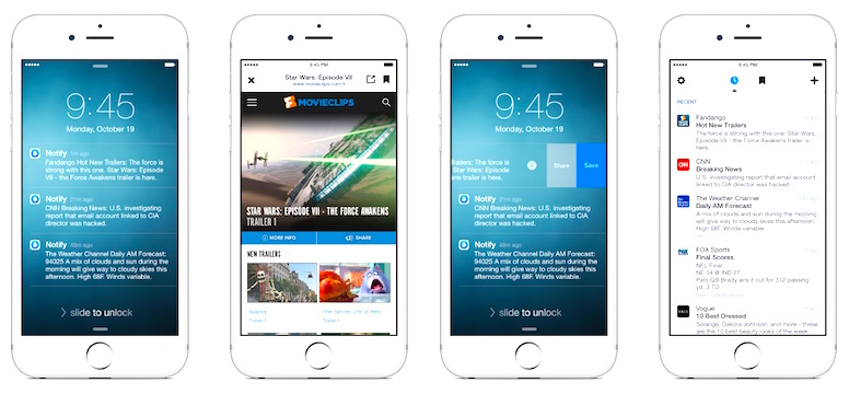 Facebook Debuts 'Notify' app for iPhone Featuring News, Sports, Weather & More